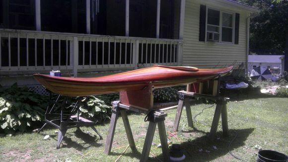 cedar handmade kayak