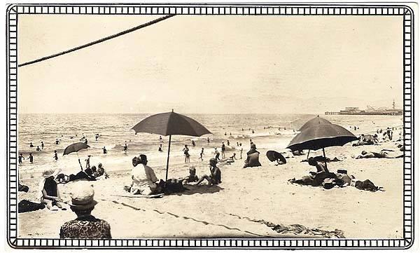 venice beach vintage photo