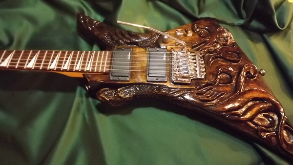 Another of my creation's in Wood Carving.