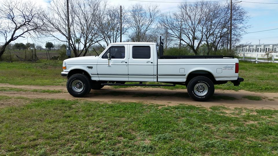 97 F350. Got it in 98.