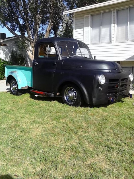 1953 ford powered dodge...Fodge. Aka salvage yard sally