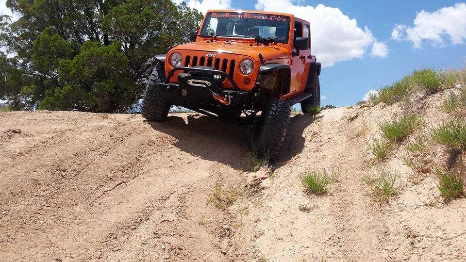 Mid day trail in new mexico!