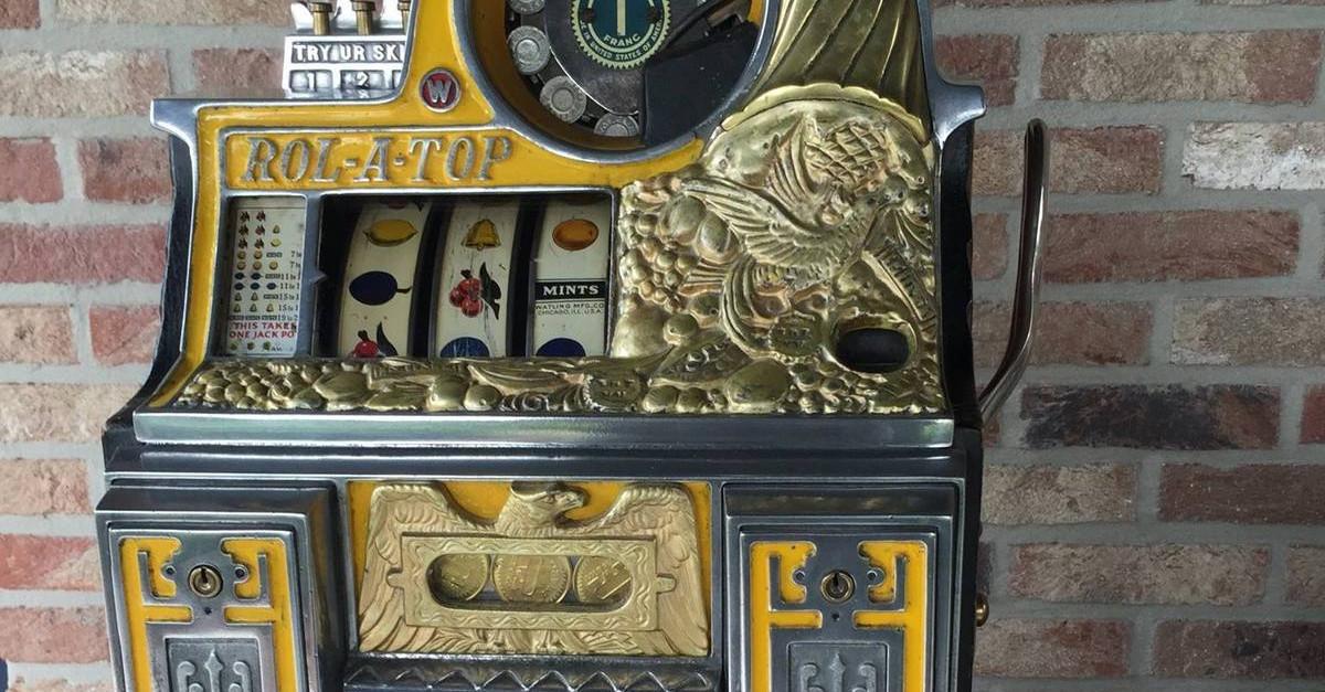 Slot machine collector Belgium / Facebook
