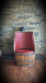 From Bryan Healy: Whiskey Barrel furniture  www.charpentry.ie