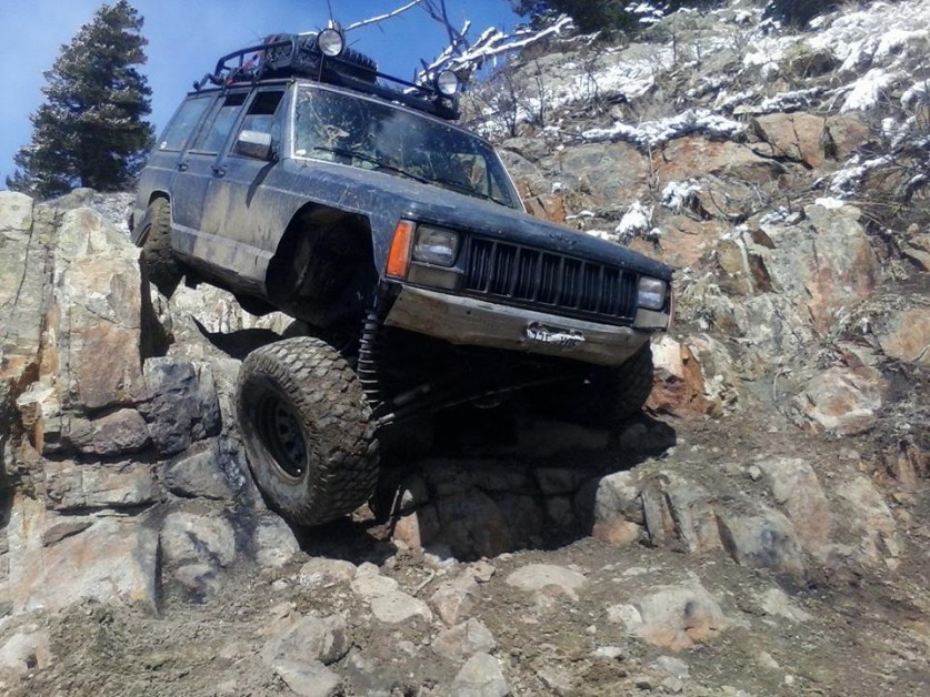 From Chad Roberson: from Denver CO 88 xj 5.5  long arm on 33