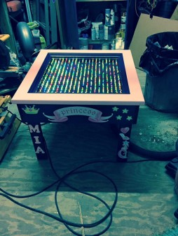 From Chris Accatino‎: Light Brite table