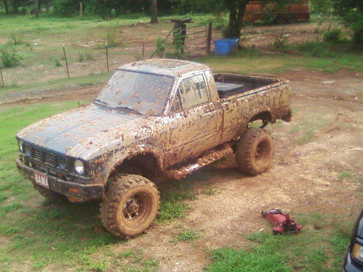 From Jeffery: took his '79 Toyota out mudding
