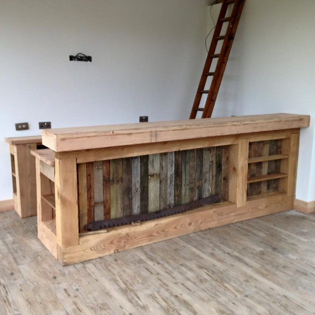 From Philip Greenlee‎: Made from pallets and double-fur