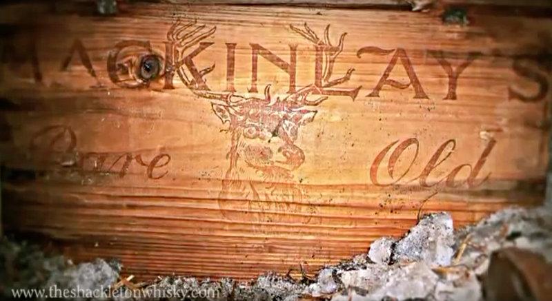 From: Youtube / Shackleton Whisky