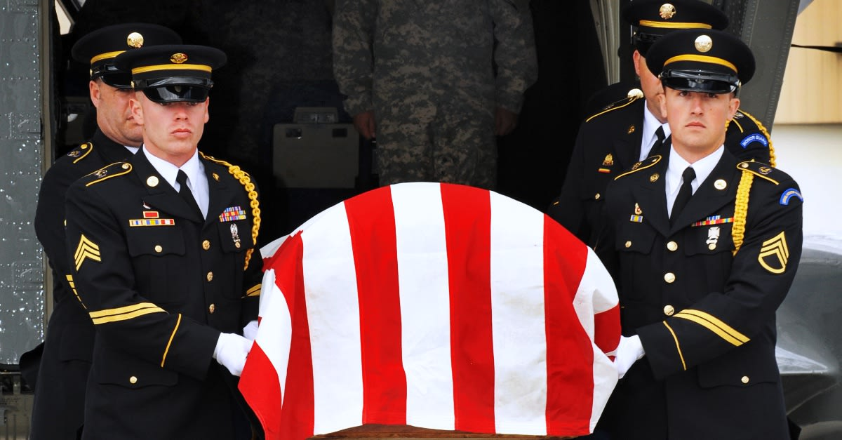 Another KIA soldier's remains are identified and returned to the U.S. / Via The U.S. Army and Sgt. Lance Alan Schroeder