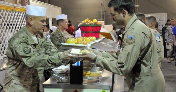 Thanksgiving at Bagram; via 401st_AFSB
