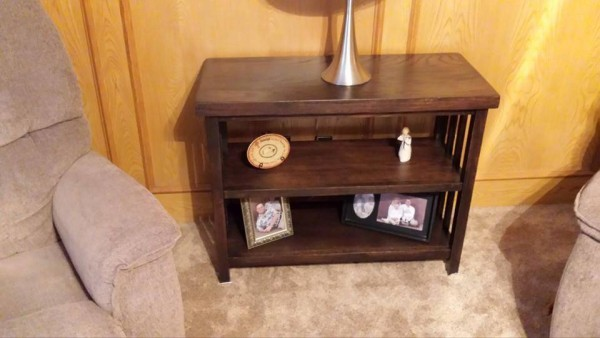 From Allen Tillett: I do a little furniture making at night, I am a carpenter during the day......