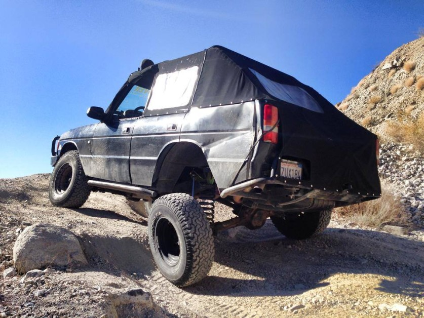 From Chuck M: my chop top 94 Land Rover Discovery.
