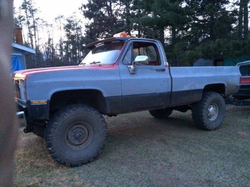 From Duke Kusba: 1986 GMC high Sierra 2500 series