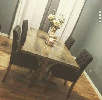 From Kraig Faulkner: Farmhouse Table I built