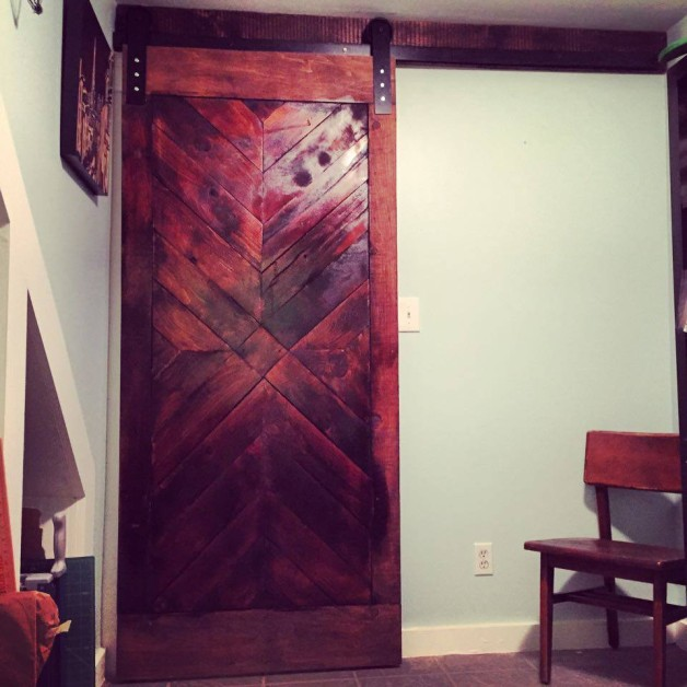 From William Harris Philpot: Custom interior barn door