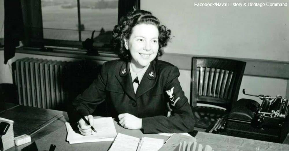 Yeoman Third Class Marjorie Nicholson / Via Naval History & Heritage Command