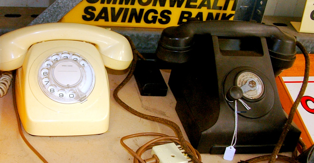 Rotary Phones from the 1950s