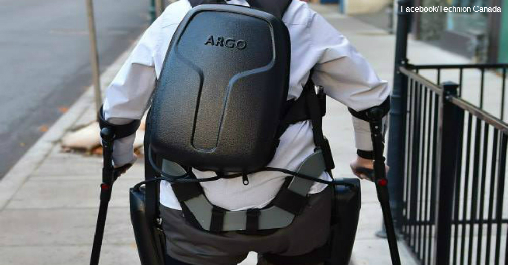 The 3.5 hour battery back-pack  / via Technion Canada