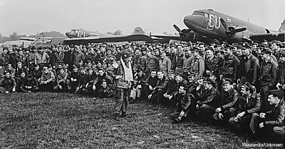 101st Airborne Division before D-Day / Via  The Dept. of Defense