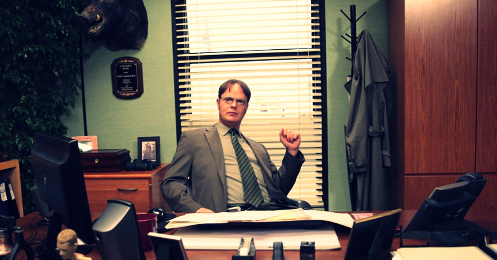 Rain Wilson as Dwight Schrute on NBC's
