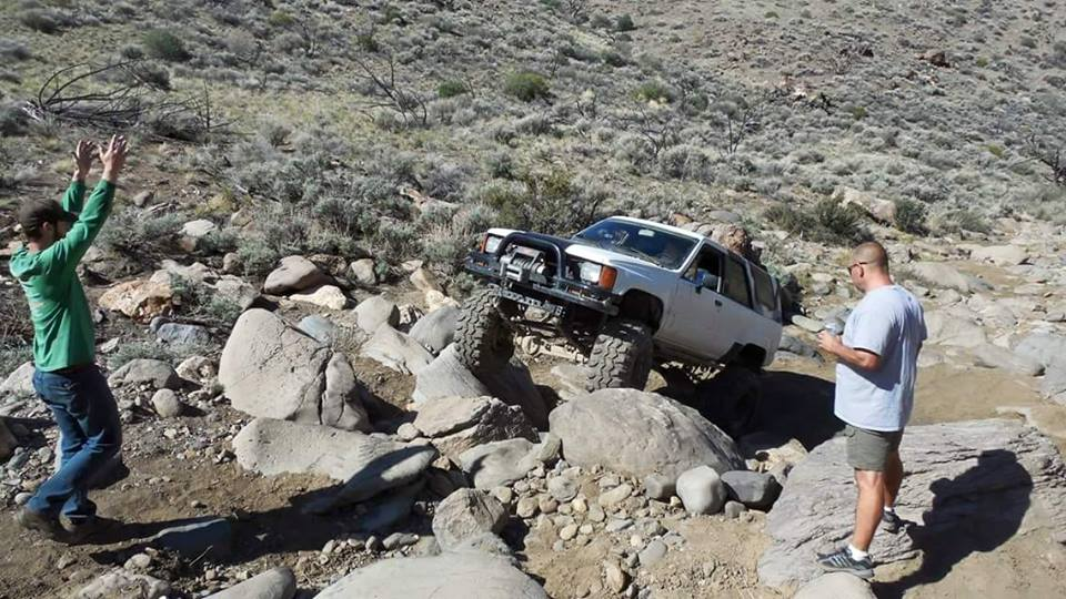 From Neal Clampitt‎: My 84 yoda 4 runner enjoying some wheeling