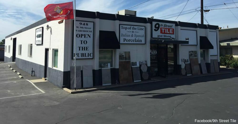 9th Street Tile storefront Via 9th Street Tile