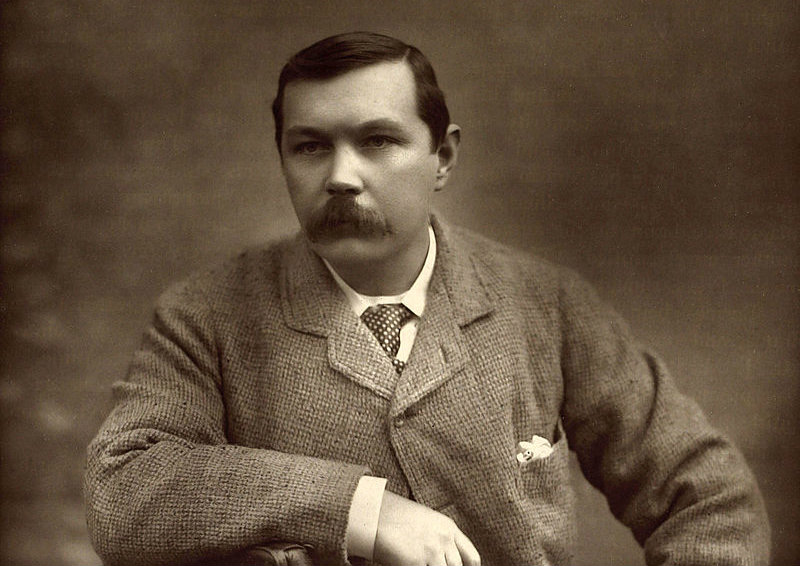 Arthur Conan Doyle. From: Wiki Commons