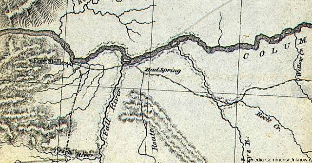 Map of the Lewis and Clark expedition / Via Wikicommons