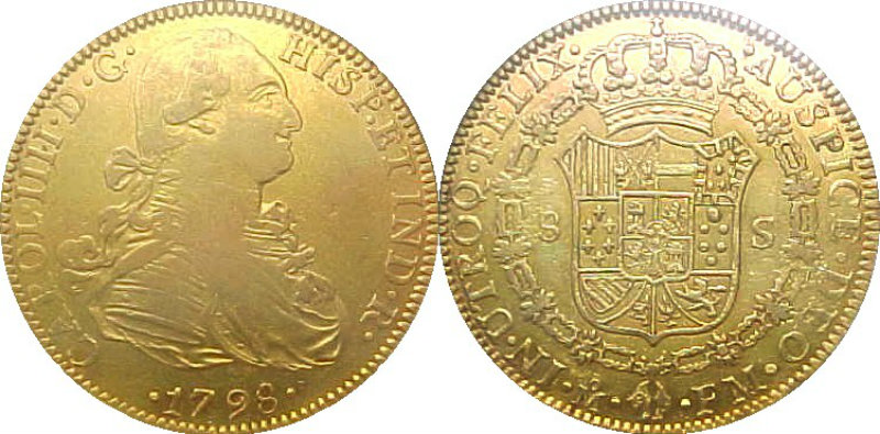 From: Wiki commons. The San Jose was thought to be carrying 11 million 4-doubloons