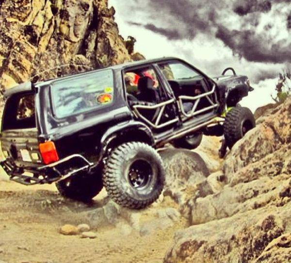 From Harry Kwan: Rock crawling 4runner