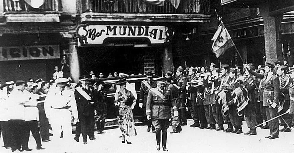 Spanish Dictator Francisco Franco in Reus / Via WikiCommons