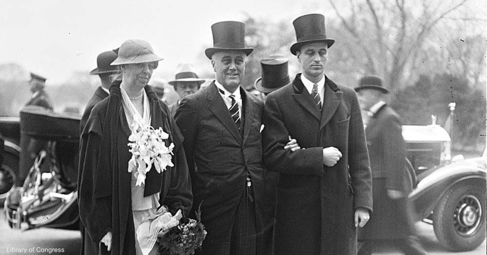Eleanor and Franklin D. Roosevelt