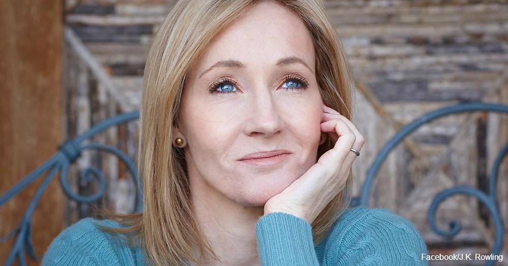 Harry Potter author J.K. Rowling / Via J.K. Rowling's Facebook