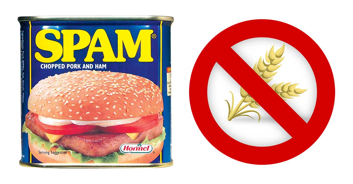 Gluten-free SPAM