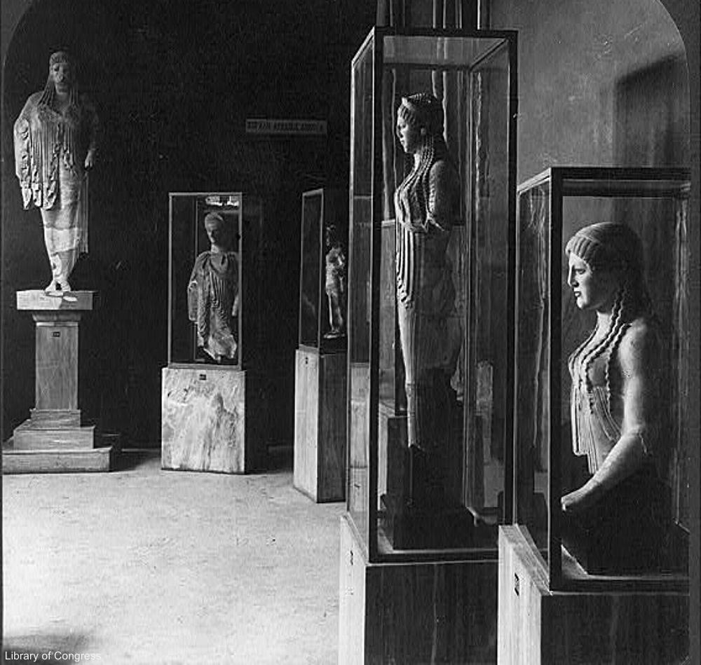 1903 Image of Acropolis Museum