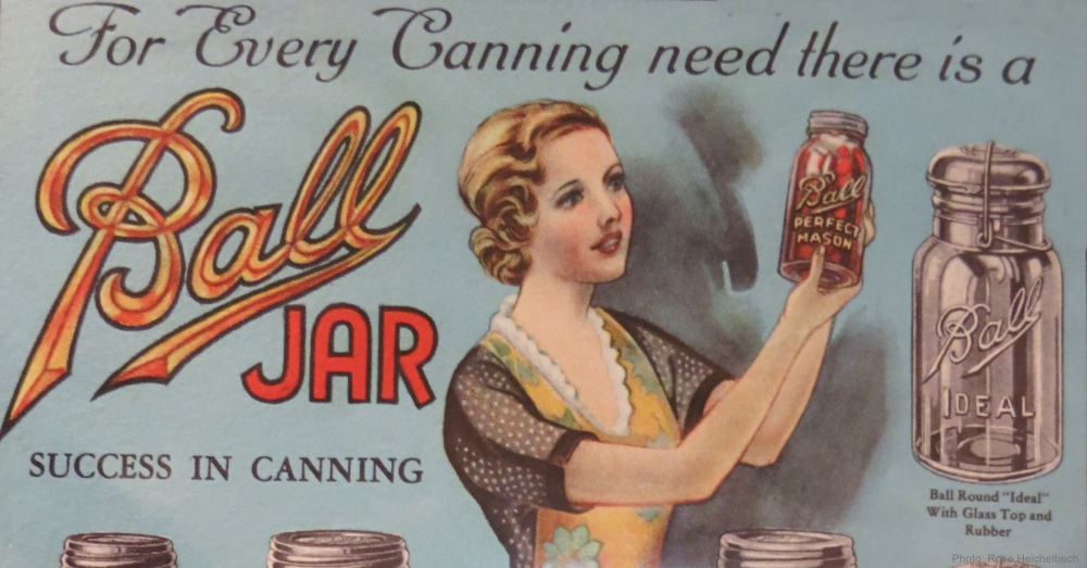 Vintage Ball Jar Advertisement