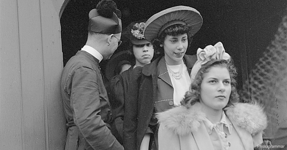 Women Dressed Up for Easter 1941