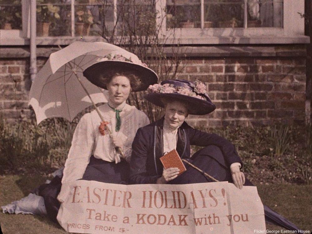 1917 Easter Kodak Banner