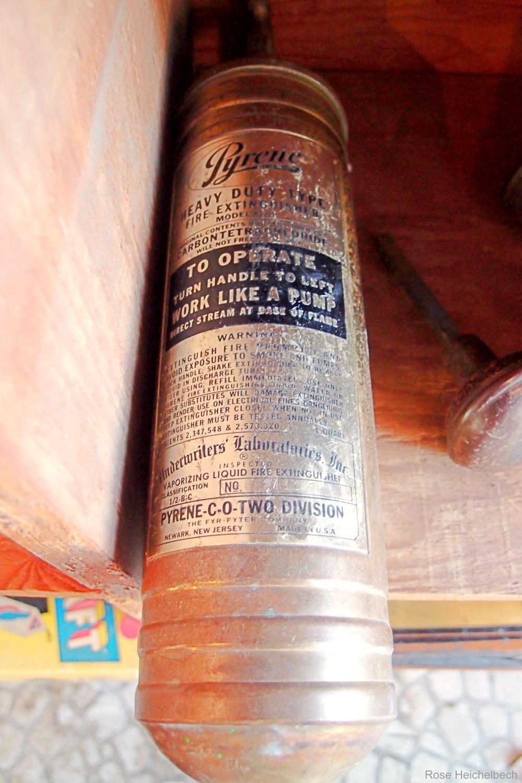 Pyrene Vintage Fire Extinguisher