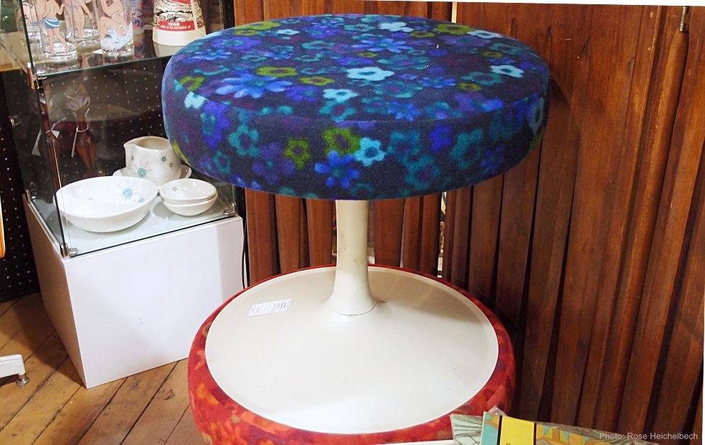 Flower power stool