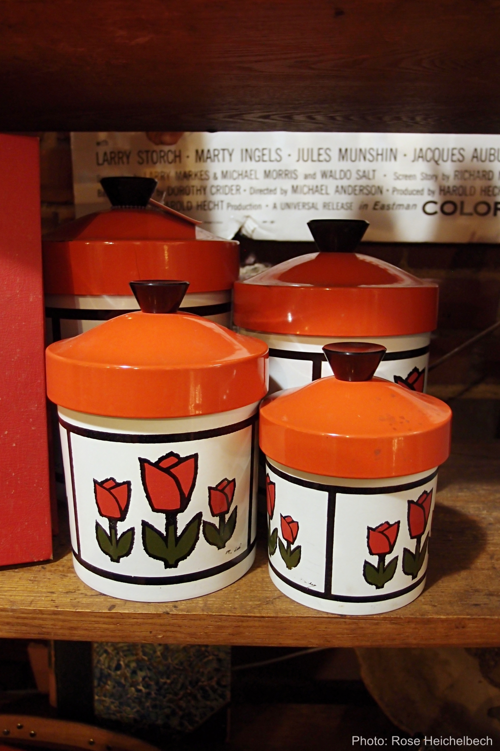 Tulip kitchen canisters