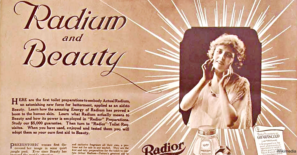 Radior Beauty Product Advertisement