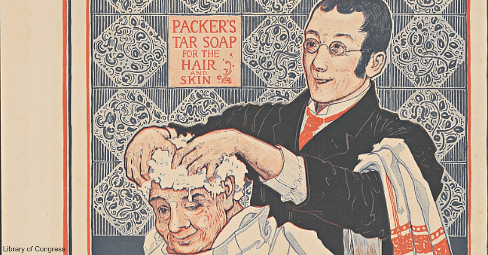 1910s Packer's Pine Tar Soap Advertisement