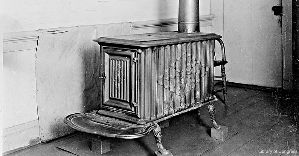 Cast Iron Wood Stove
