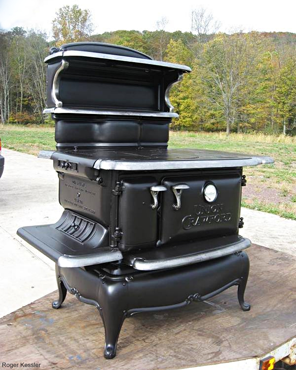 Cast Iron Wood Burning Cook Stove