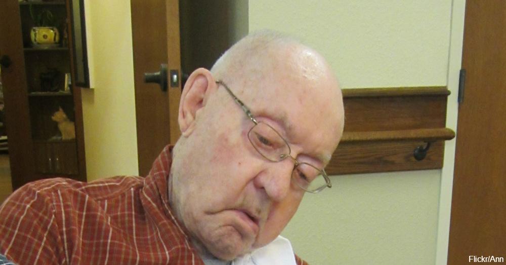 Elderly Man in Nursing Home