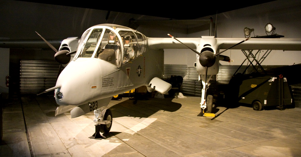 OV-10A Bronco  at the Warner Robins Museum of Aviation / Via Simon Taylor