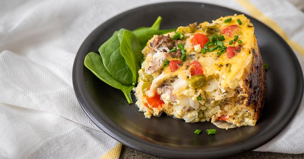Italian Breakfast Casserole Resized