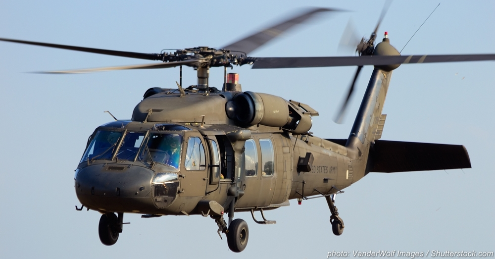 Black Hawk helicopters continue to be used by the U.S. military today.